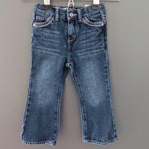 Levi's boot cut denim jeans adjustable waist